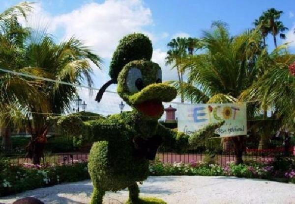 Shangrala's Disney Character Bushes