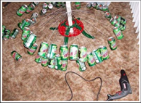 Shangrala's Redneck Christmas Tree!