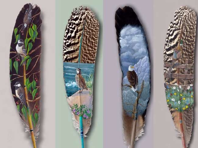 Shangrala's Feather Art