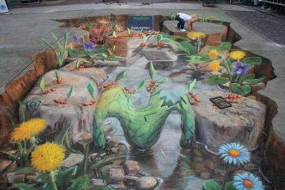 Shangrala's Chalk Art 2