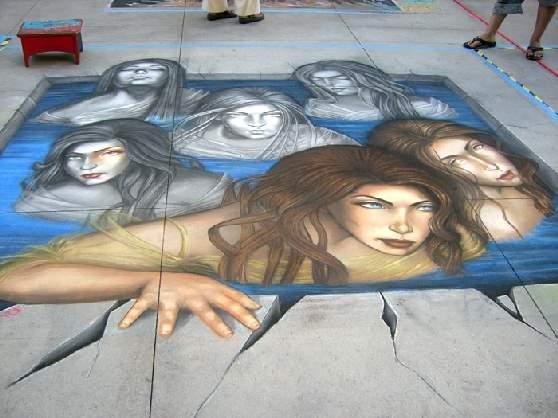 Shangrala's Chalk Art 3