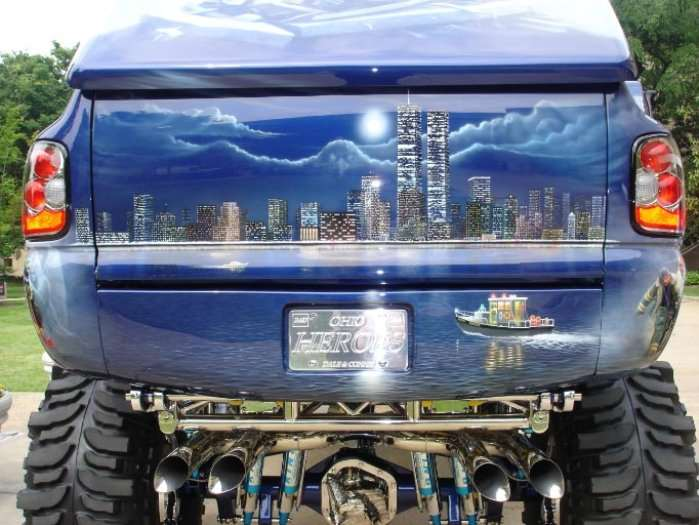 Shangrala's Heroes Truck