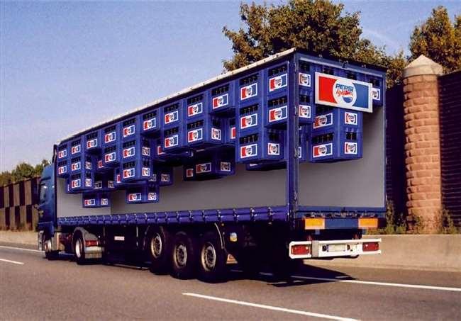 Shangrala's Advertising Truck Art