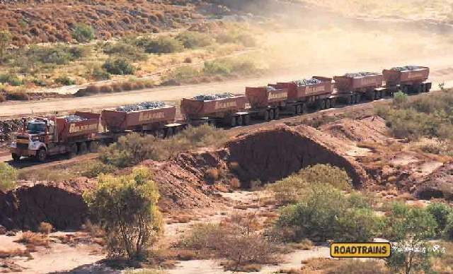 Shangrala's Road Train