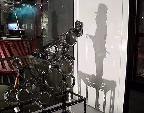 Shangrala's Trash Shadow Art
