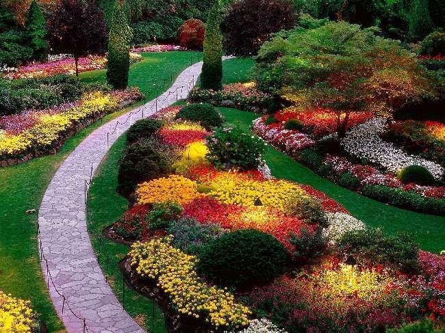 Shangrala's Butchart Gardens