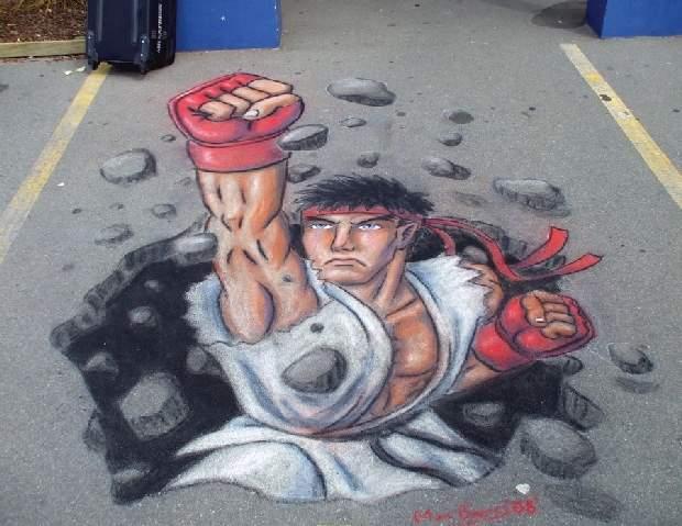 Shangrala's Chalk Art 4