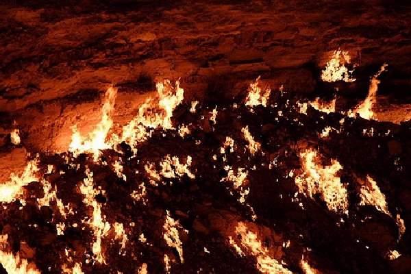Shangrala's Darvaza - Door To Hell