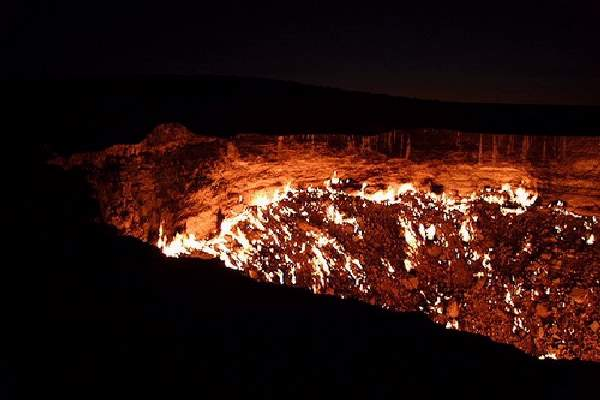 Shangrala's Darvaza - Door To Hell