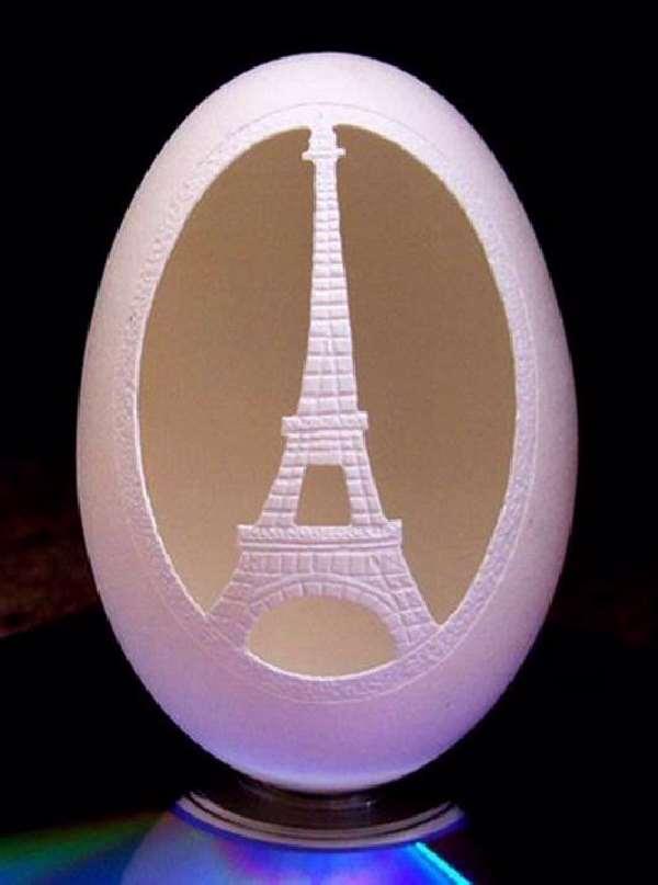 Shangrala's Egg Sculpture Art