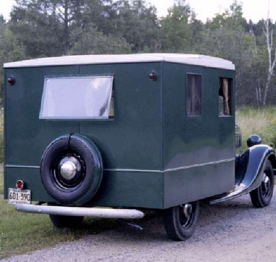 Shangrala's Ford's First RV