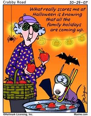 Shangrala's Maxine On Halloween