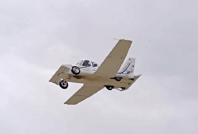 Shangrala's Amazing Street-Legal Airplane