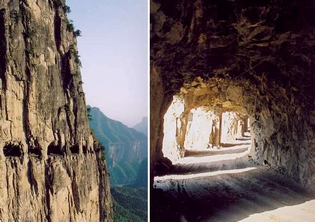 Shangrala's Guoliang Tunnel Road