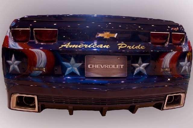 Shangrala's Chevy: American Pride