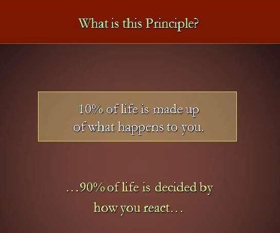 90/10 Principle