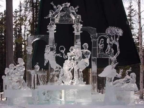 Shangrala's Ice Sculpture Art 2
