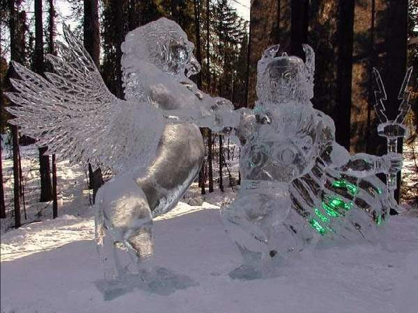 Shangrala's Ice Sculpture Art 2