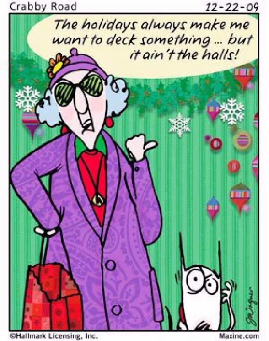 Shangrala's Maxine On Holidays