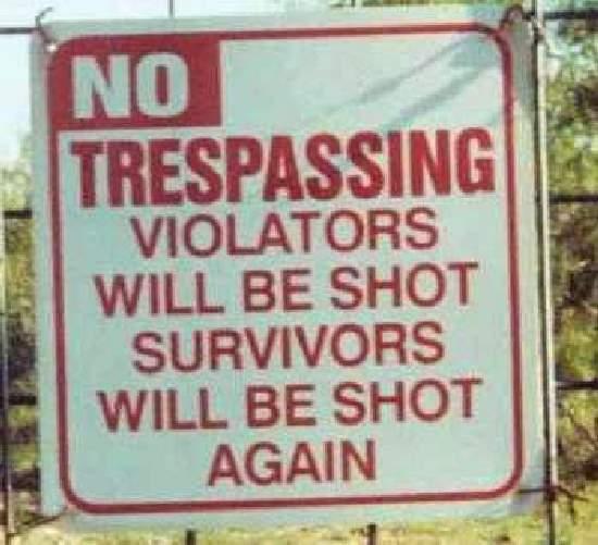 Shangrala's Humorous Signs
