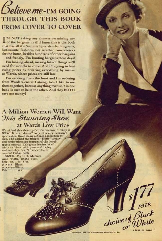 Shangrala's Ward's 1934 Wish Book