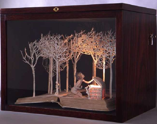 Shangrala's Book Sculpture Art