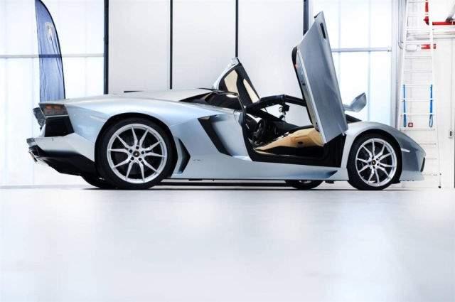 Shangrala's 2012 Lamborghini Aventador LP 700-4