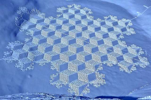 Shangrala's Quilts In The Snow