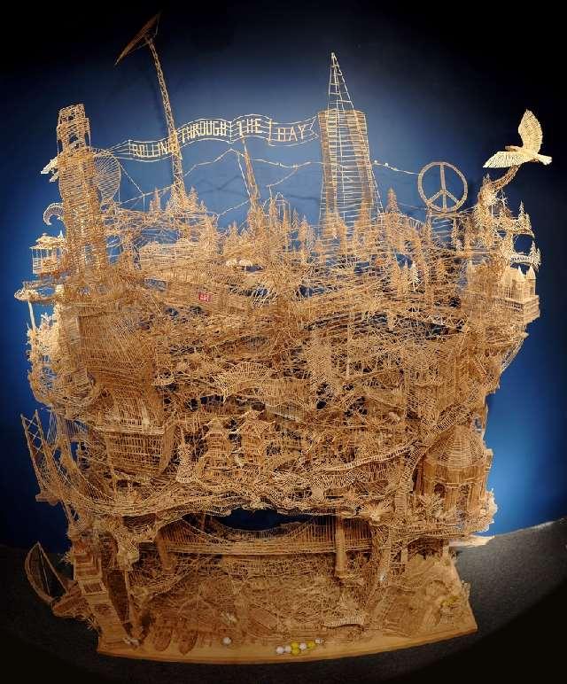 Shangrala's Scott Weaver Toothpick Art!