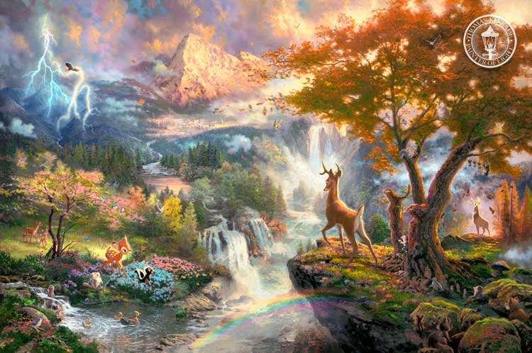 Shangrala's Kinkade - Painter Of Light!