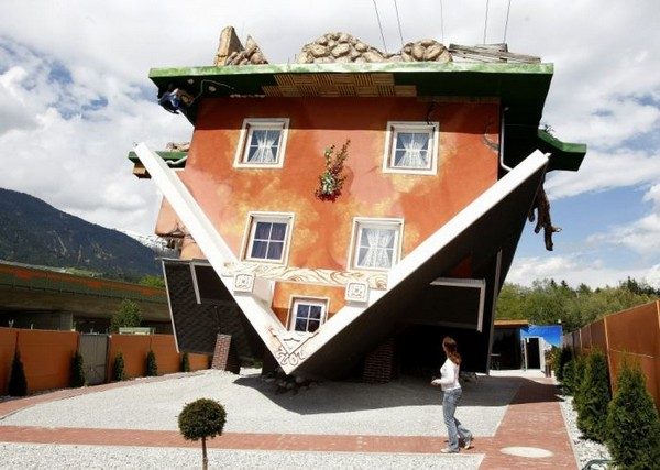Shangrala's Upside Down House
