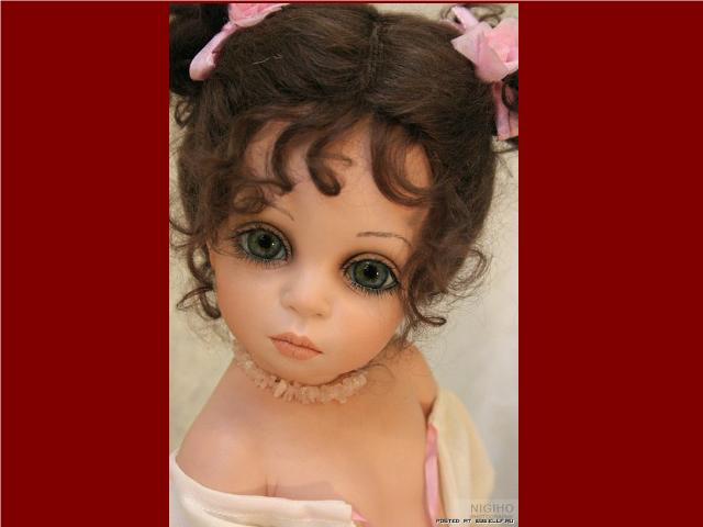 Shangrala's Porcelain Doll Art
