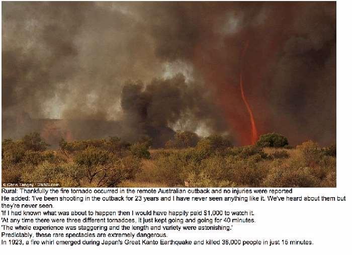 Shangrala's Australian Fire Tornado