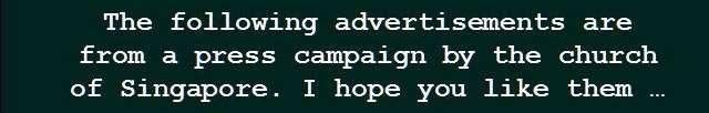 Shangrala's God's Advertisements