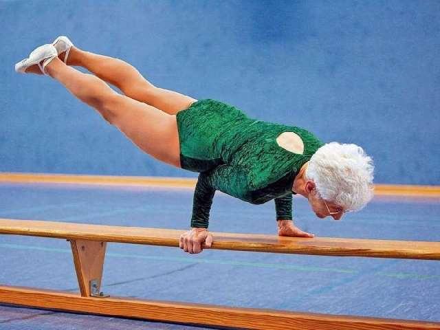 Shangrala's 86 Year Old Grandma Gymnast