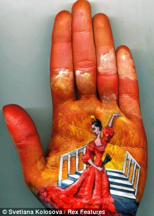 Shangrala's Palm Painting Art