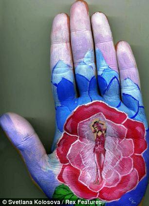 Shangrala's Palm Painting Art