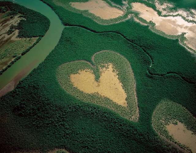 Shangrala's Big Hearts In Nature!