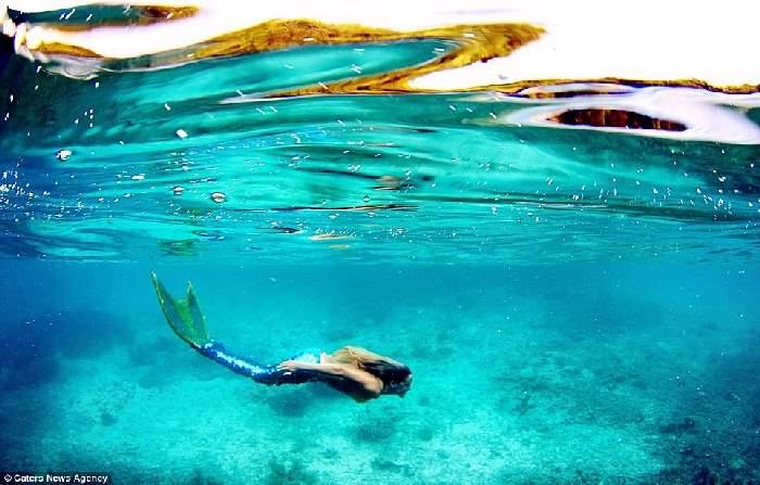 Shangrala's Real Life Mermaid