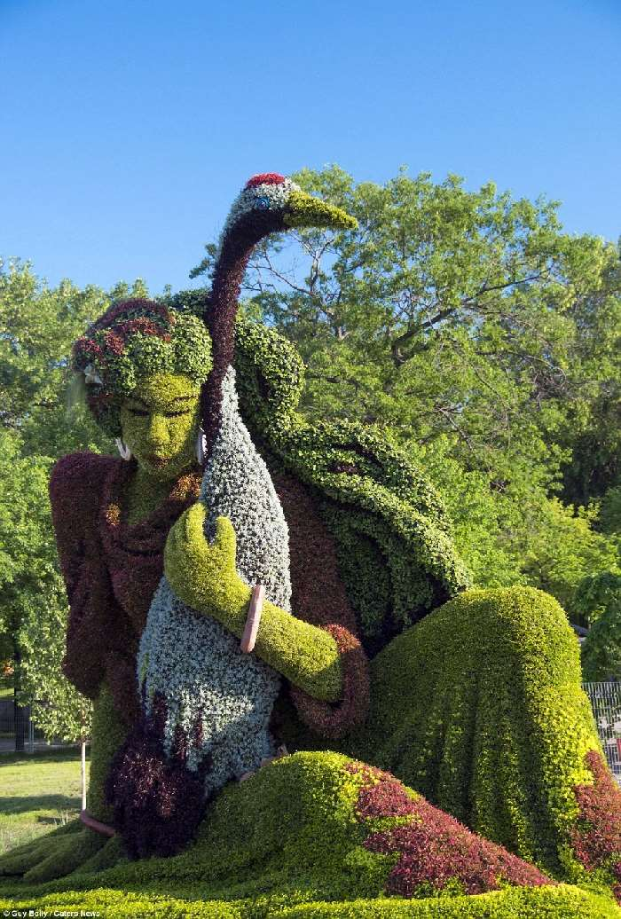 Shangrala's Montreal Mosaicultures Show