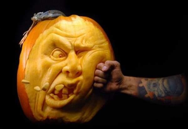 Shangrala's Extreme Pumpkin Art 2