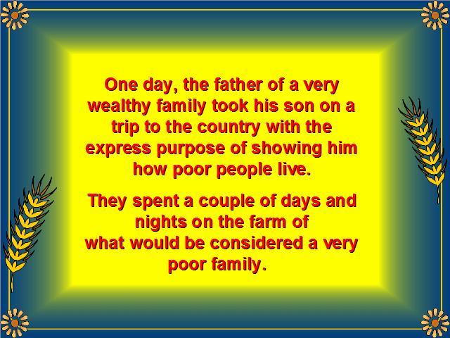 Shangrala's Rich VS Poor