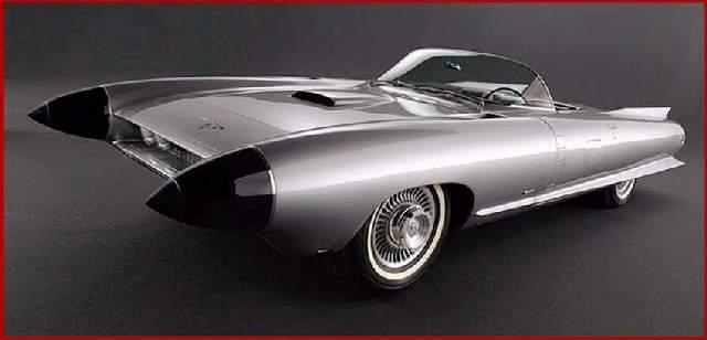 Shangrala's 50s Concept Cars