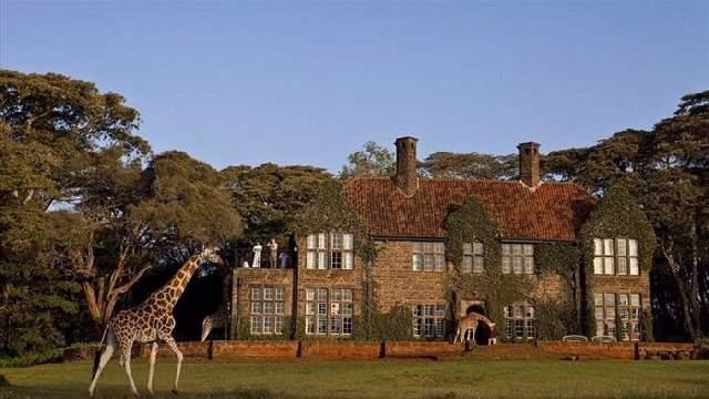 Shangrala's Giraffe Manor