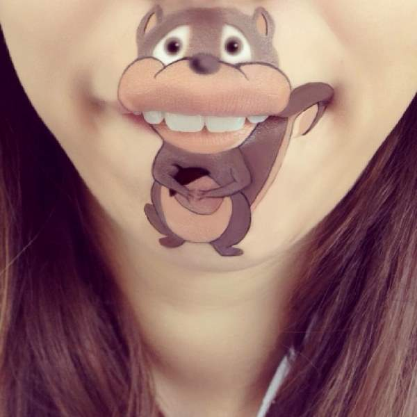 Shangrala's Cartoon Lip Art