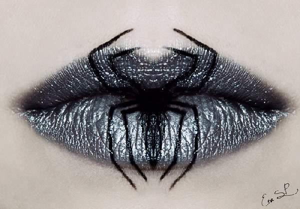 Shangrala's Halloween Lip Art