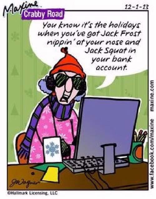 Shangrala's Maxine On Christmas 2