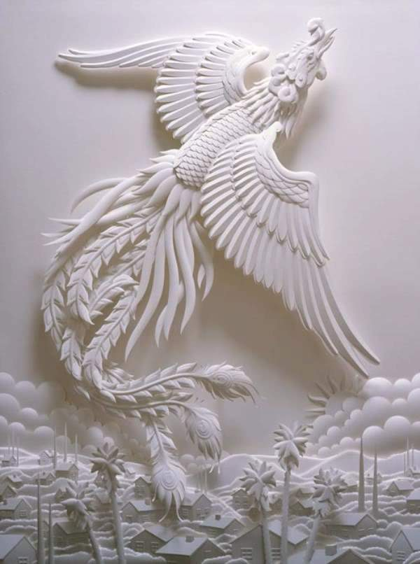 Shangrala's Jeff Nishinaka's Paper Sculptures