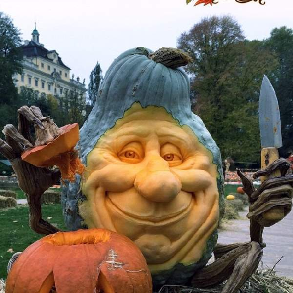 Shangrala's Extreme Pumpkin Art 3