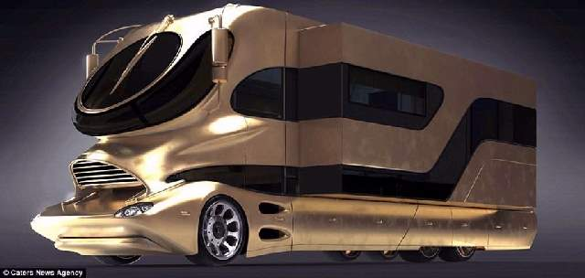 Shangrala's The eleMMent Palazzo Mobile RV